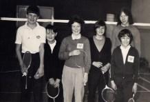 THIRTEEN badminton