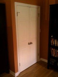 Closet doors! | Janie & Tim