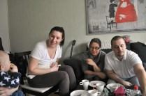 Ulrika, Carina och David