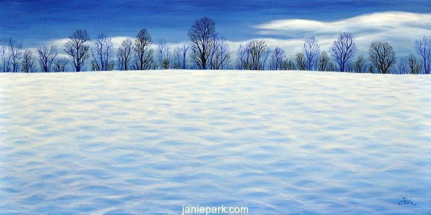 Fresh Winter Blue I (Sold)