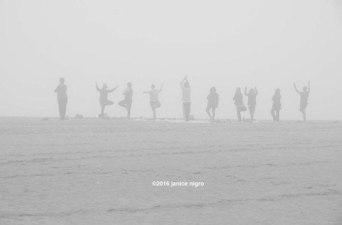 yoga on the beach 8430 copyright