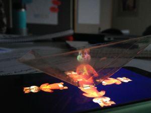 Medienpädagogik: Hologramm DIY