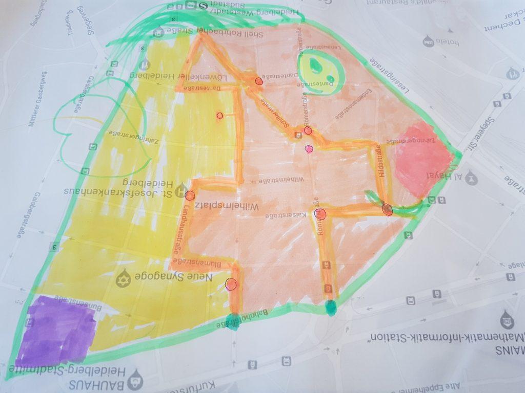 Medienpädagogik: Digitales Stadtlabyrinth