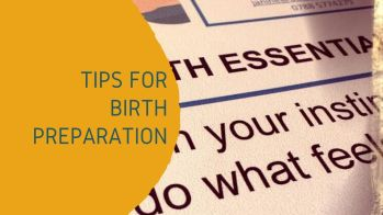 birth preparation tips