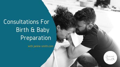 birth preparation consultations