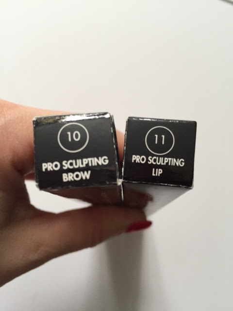 Make Up For Ever Pro Sculpting Lip and Brow Review