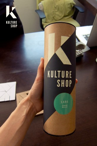 Kulture Shop Art Print Packaging