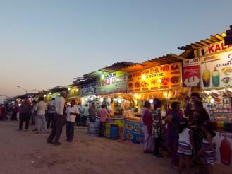 Juhu Beach Stalls