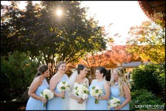 wedding flowers, bridal party, blue, white, green, wedding flowers, bouquets, bridesmaids bouquets, bride bouquet, lake of the ozarks, lodge of the four seasons, janine's flowers, lake ozark, osage beach, camdenton, outdoor pictures, wedding flowers