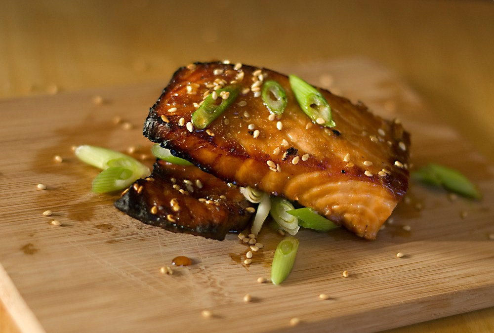 Broiled Asian Salmon and Pinterest (2/2)