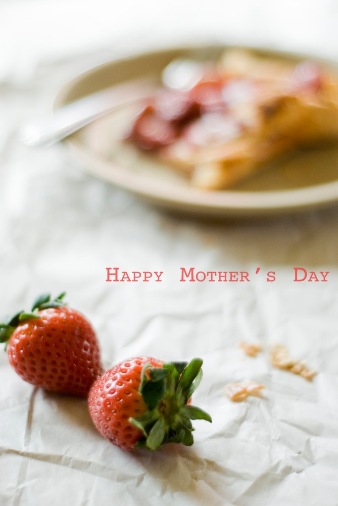 Strawberry Tart and Mother's Day (1/5)