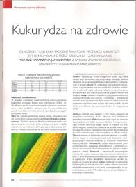 """Artykuł """"Kukurydza na zdrowie"""" dla Nowej Wsi Europejskiej_1"""