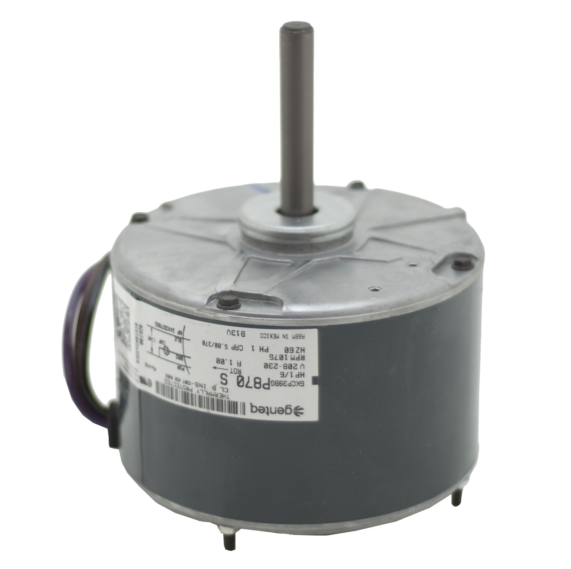 fan motor capacitor wiring diagram bazooka tube condenser  b13400251s janitrol goodman 1 6 hp