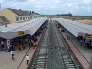 दुमका ज़िले के रेलवे स्टेशन