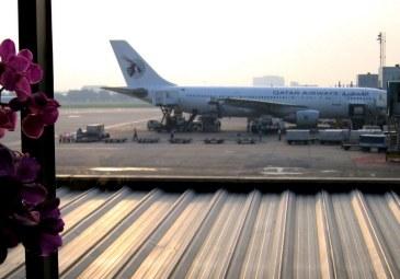 Szybka zmiana klimatu z październikowej jesiennej pluchy na upalny, słoneczny dzień :) Bangkok.