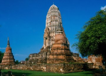 Ayutthaya - Wat Ratburana XIII w.
