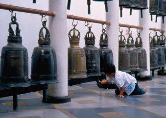 Dźwięk jest nośnikiem modlitw i odstrasza złe duchy.