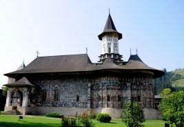 Manastirea Suçevita (Bukowina), malowany klasztor z XVIw.