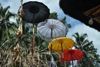 Parasole zawsze w hinduizmie są symbolem ochrony i opieki.