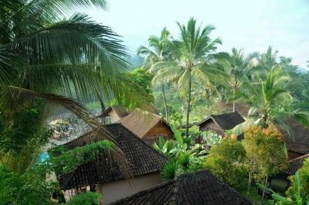 A to znów przy okazji: tu mieszkamy. Okolice Sidemen, serce Bali otoczone polami ryżowymi i w cieniu Agunga.