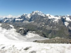 Glacier du Gietro, Charmonate Valley, Grand Combin.
