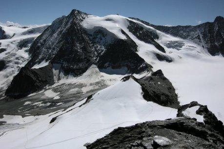 Mont Blanc de Cheilon, La Rouinette i przełęcz pod La Luette.
