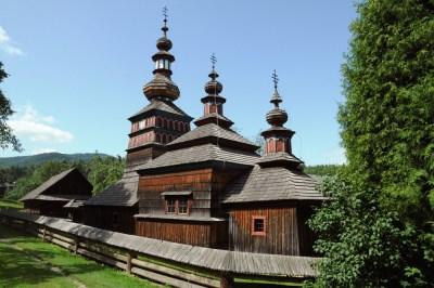 Cerkiew z Mikulašovej, z 1730 roku.