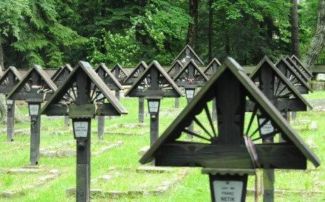 Pochowanych jest tutaj 174 żołnierzy armii austro-węgierskiej.