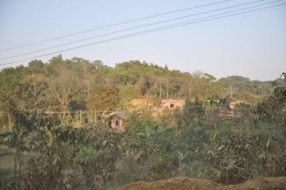 Przydrożne wioski.