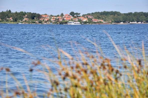 Dzielnica Brändaholm na cypelku wyspy Dragso.