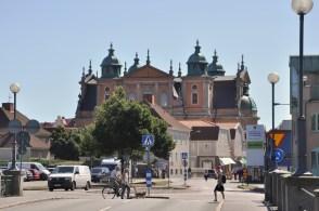 Kalmar, historyczne miasteczko. Katedra.
