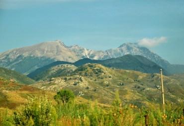 W drodze na słynną przełęcz Llogara.