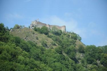 Cetatea Poienari - prawdziwa twierdza Drakuli (Transylwania again).
