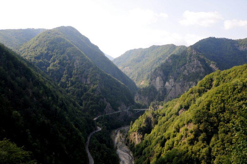 Początek trasy transfogaraskiej.