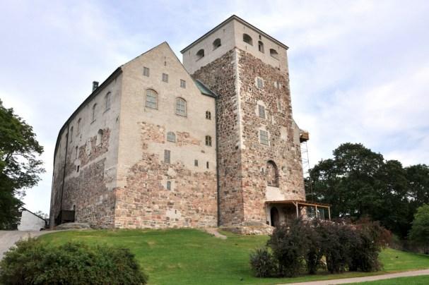 Zamek w Turku u ujścia rzeki Aurajoki do Bałtyku.