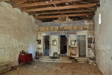 Ruiny cerkwi są podobno używane do dziś.