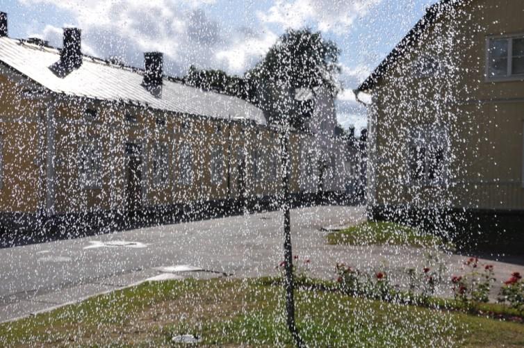 Inne spojrzenie na drewniane miasteczko;) Ekenas.