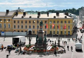 Plac Senacki z carem.