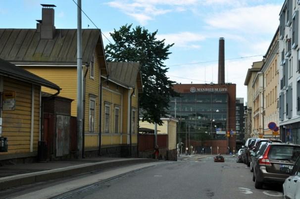 To też centrum Helsinek.