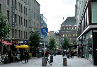 Stockmann to najsłynniejszy dom towarowy w Helsinkach.