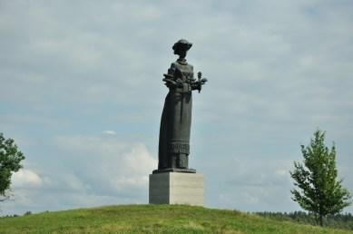 Plenerowa prywatna ekspozycja pomników działaczy radzieckich i muzeum komunizmu Litewskiej SRR.