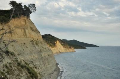 Półwysep Rodonit i jego klify.