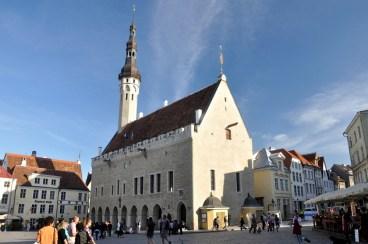 Ratusz z XIVw. Rzekomo najstarszy w Europie zachowany średniowieczny ratusz.