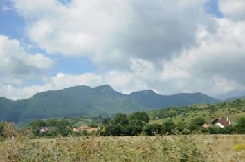 Dookoła całej Rumunii - góry.