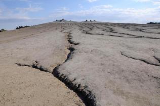 Park Narodowy Paclele Mici - wulkany błotne.