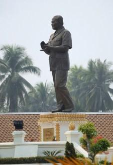 VIP: Książę Tiao Souphanouvong, pierwszy prezydent Laosu po zniesieniu monarchii.