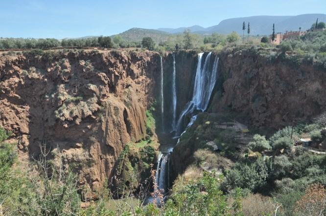 Taki ładny, spektakularny wodospad. 110 metrów, największy w Maroko i jeden z najwyższych w Afryce!