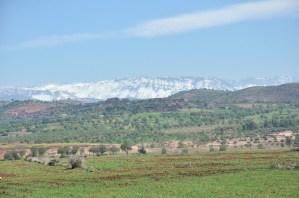 Im dalej od Marrakeszu, tym wyżej.