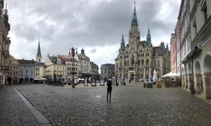 Jak deszcz to do miasta. Liberec.