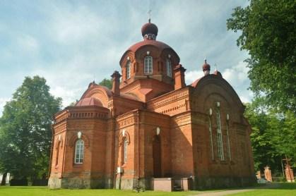 Białowieża, cerkiew św. Mikołaja, 1897r.